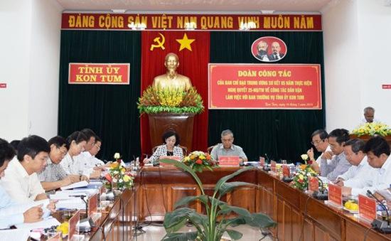 Kon Tum cần nâng cao chất lượng công tác dân vận