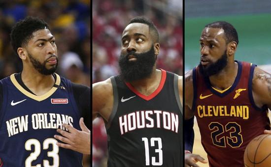 """NBA công bố danh sách rút gọn ứng cử viên cho danh hiệu """"Cầu thủ xuất sắc nhất"""""""