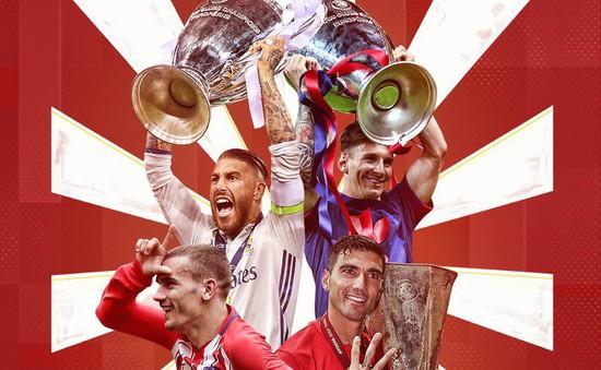 """Bóng đá Tây Ban Nha đang """"thống trị"""" châu Âu"""