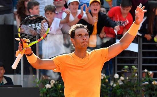 Rome mở rộng 2018: Loại Fabio Fognini, Rafael Nadal giành quyền vào bán kết