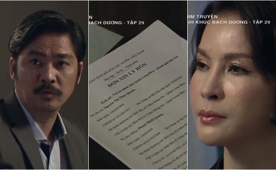 Tình khúc Bạch Dương - Tập 29: Quyên - Quang đau đớn tranh luận về tình yêu và ly hôn