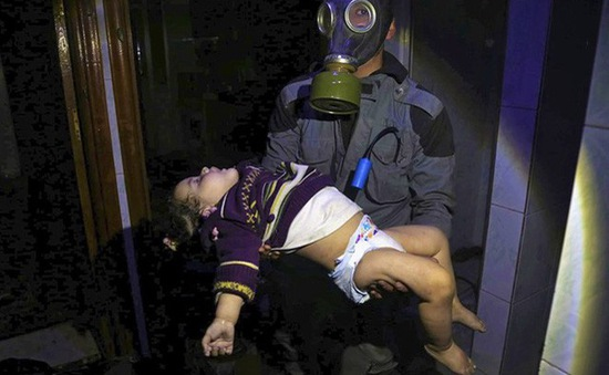 Pháp đóng băng tài sản các công ty tình nghi liên quan vũ khí hóa học Syria