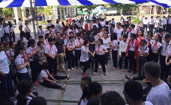 Đà Nẵng: Khuyến khích học sinh vui chơi ngoài trời để có đôi mắt sáng