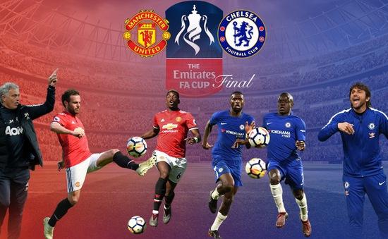 Lịch trực tiếp bóng đá hôm nay (19/5): HAGL làm khách của Cần Thơ, Man Utd và Chelsea tranh FA Cup