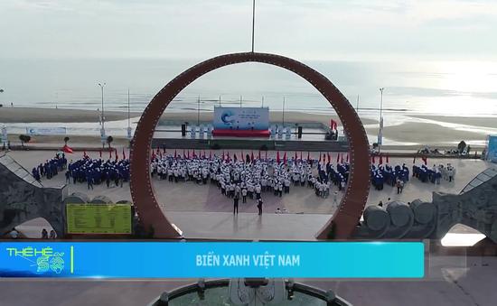 """2000 người chung tay bảo vệ biển trong ngày đầu tiên chiến dịch """"Biển Việt Nam xanh"""""""