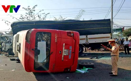 Vụ tai nạn giao thông nghiêm trọng tại Lâm Đồng: Xác định danh tính các nạn nhân