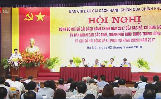 Quảng Ninh và NHNN dẫn đầu chỉ số cải cách hành chính năm 2017