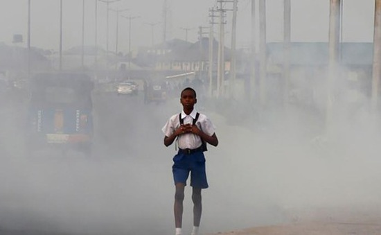 90% người dân thế giới đang phải hít thở không khí ô nhiễm hàng ngày