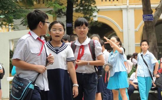 INFOGRAPHIC: Điểm tuyển sinh 7 trường THCS ở Hà Nội theo chương trình song bằng