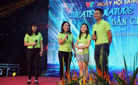 Ngày hội sáng tạo VTV 2018: Nhiều ý tưởng hay, độc đáo được giới thiệu
