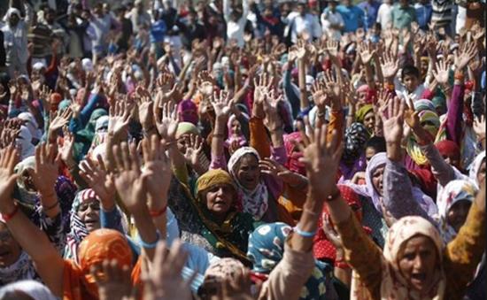 Biểu tình biến thành bạo lực tại Ấn Độ, 9 người thiệt mạng