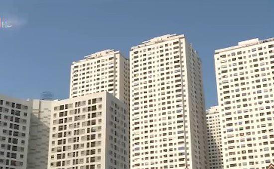 Giải tỏa bãi xe trái phép lộ bất cập quy hoạch các khu chung cư trên địa bàn quận Hoàng Mai