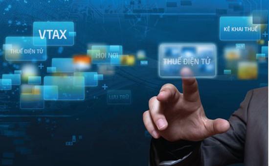 Tạm dừng khai thuế qua mạng