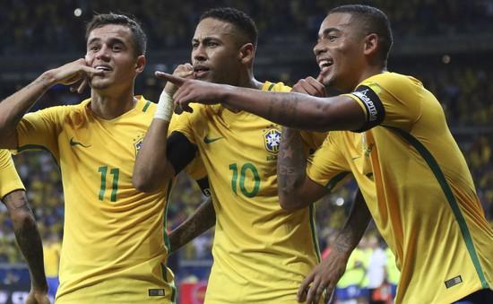 Sao Brazil nhận thưởng khủng nếu vô địch World Cup 2018