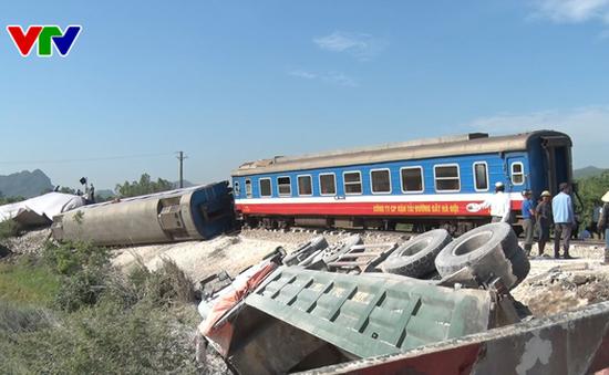 Liên tiếp xảy ra nhiều vụ tai nạn đường sắt nghiêm trọng