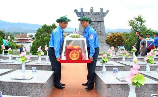 Kon Tum: Truy điệu, an táng hài cốt liệt sĩ hy sinh tại Lào và Campuchia