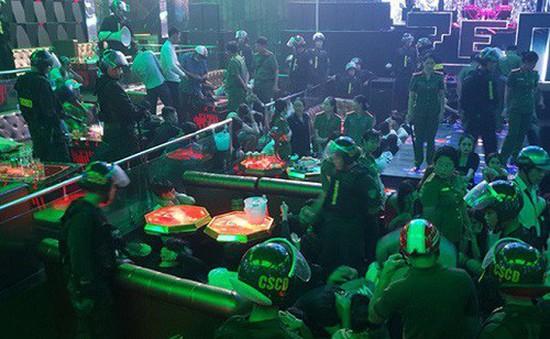 Kiên Giang: Bắt giữ hàng chục đối tượng tàng trữ, sử dụng ma túy trong quán bar