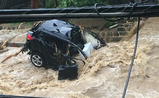 Mỹ: Trận mưa lịch sử tại bang Maryland gây ngập lụt nghiêm trọng