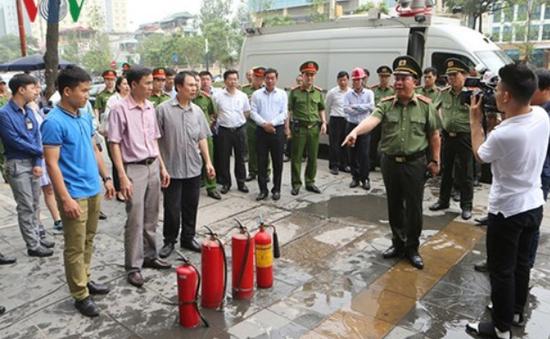 Hà Nội khắc phục tồn tại về PCCC nhà cao tầng trước ngày 30/6