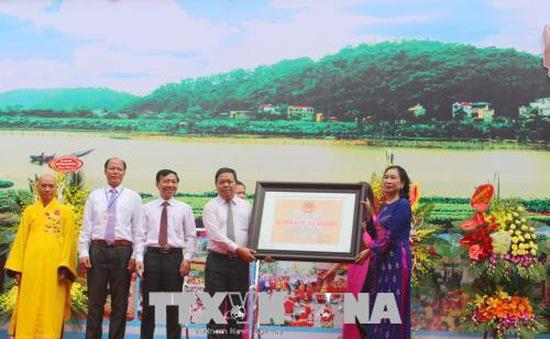 Chùa Đọi Sơn, Hà Nam được công nhận Di tích quốc gia đặc biệt