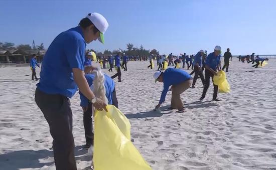 """Quảng Trị phát động chiến dịch """"Hãy làm sạch biển"""""""