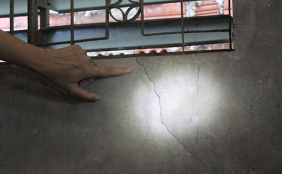 Cần Thơ: Người dân thấp thỏm khi nhà bị nứt