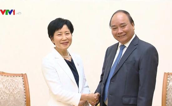 Thủ tướng tiếp Giám đốc Điều hành Quỹ Môi trường toàn cầu