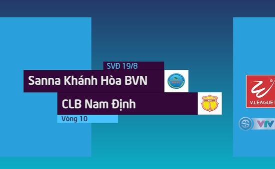 Tổng hợp diễn biến Sanna Khánh Hoà 2–2 CLB Nam Định