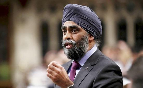 Bộ trưởng Quốc phòng Canada sắp thăm Việt Nam