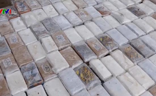 Peru thu giữ hơn 1.000 tấn cocaine