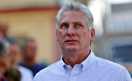 Tân Chủ tịch Cuba thăm Venezuela