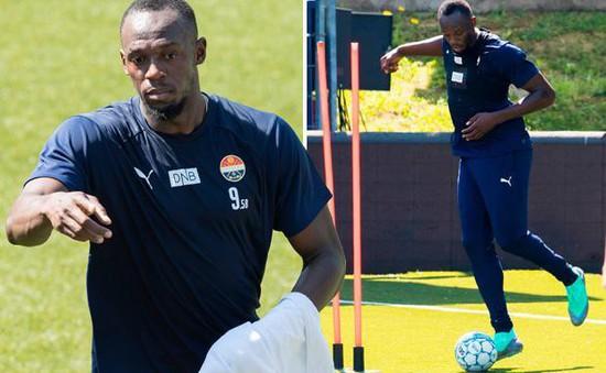 """Usain Bolt sang Na Uy """"tầm sư học đạo"""", quyết thành cầu thủ chuyên nghiệp"""