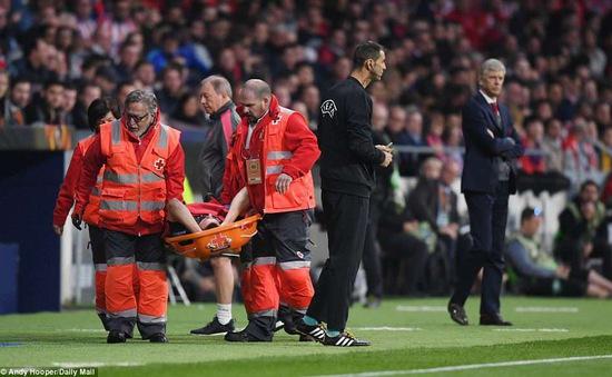 Thủ quân Arsenal có thể chia tay World Cup 2018 sau trận thua Atletico Madrid