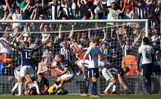 VIDEO HIGHLIGHTS: West Brom 1-0 Tottenham