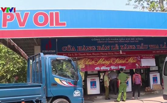 Tự nâng giá bán, chủ cây xăng bị phạt 40 triệu đồng