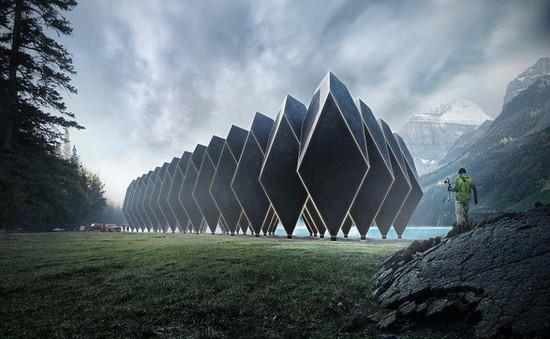 Khách sạn 'của tương lai' với thiết kế kỳ quặc và khó hiểu