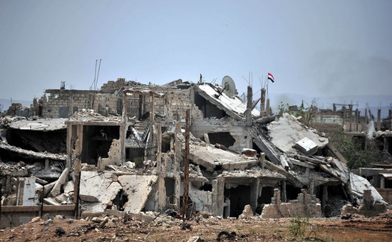 Quân đội Syria giành lại khu vực phía Nam Damascus