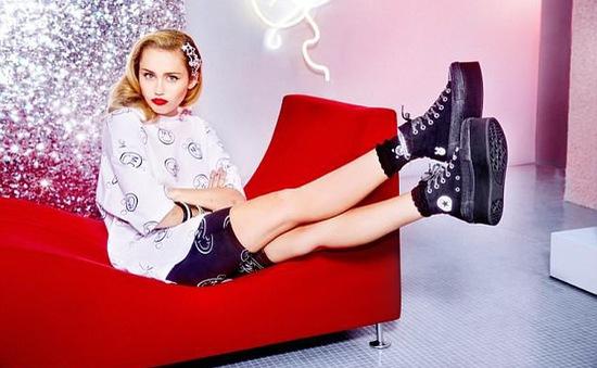 Miley Cyrus: Nổi loạn nhưng đáng yêu!