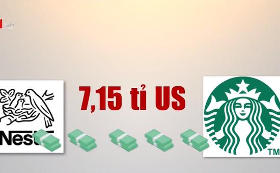 Nestlé kết hợp Starbucks thành liên minh cà phê toàn cầu