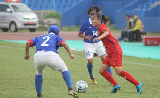 Thắng Malaysia, U16 nữ Việt Nam tiến vào bán kết giải U16 nữ ĐNA 2018