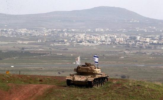 Căng thẳng tại biên giới Israel - Syria sau quyết định của Tổng thống Mỹ