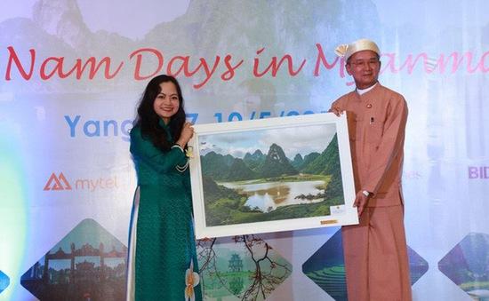 Khai mạc những ngày Việt Nam tại Myanmar