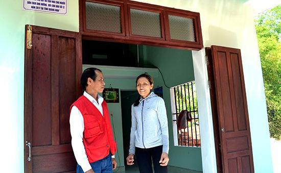 Quảng Nam: Bàn giao nhà an toàn tránh trú bão cho người dân vùng bị ảnh hưởng