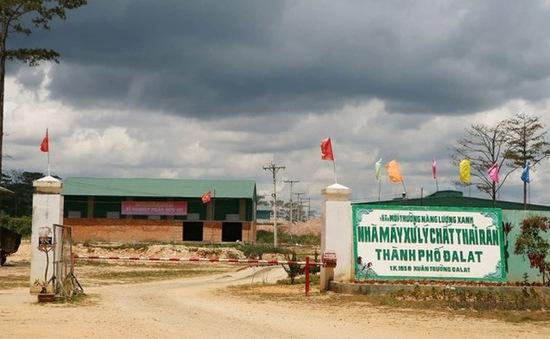 Lâm Đồng: Nhà máy xử lý rác ngừng hoạt động, tồn dư hơn 3.000 tấn chưa qua xử lý