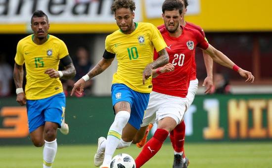 Neymar lại tỏa sáng, Brazil hạ ĐT Áo 3 bàn không gỡ