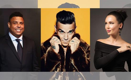"""World Cup 2018: Robbie Williams cùng Ronaldo """"béo"""" sẽ khuấy động lễ khai mạc"""