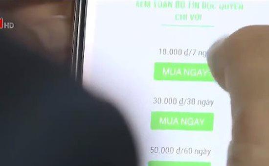 Thu phí đọc báo điện tử - Hướng đi được kỳ vọng