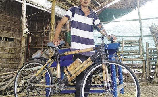 Độc đáo các sản phẩm từ tre của đồng bào Khmer Trà Vinh