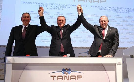 Thổ Nhĩ Kỳ khánh thành đường ống dẫn khí đốt đầu tiên không qua Nga