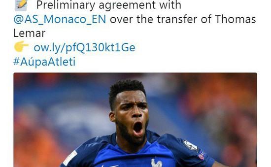 Tổng hợp chuyển nhượng bóng đá quốc tế ngày 13/6: Atl Madrid xác nhận sắp mua xong Lemar